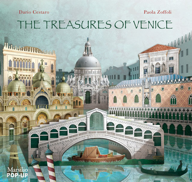 The Treasures of Venice (pop up)