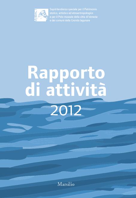 Rapporto di attività 2012