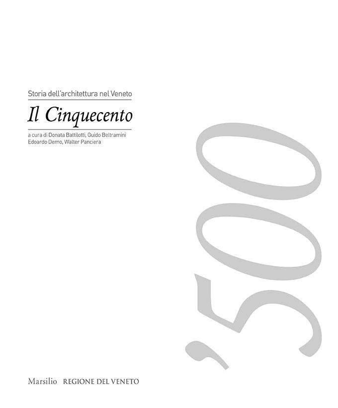 Storia dell'architettura nel Veneto. Il Cinquecento