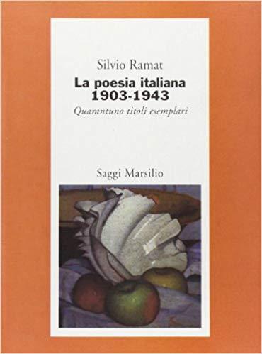 Poesia italiana 1903-1943
