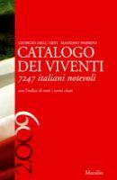 Catalogo dei viventi 2009